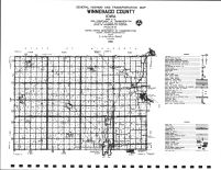 Winnebago County Highway Map, Winnebago County 1983